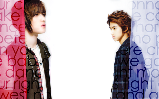 YunJae for Pink and Blue by mkiseasytospell