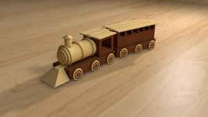 3D Train model by MP-DA
