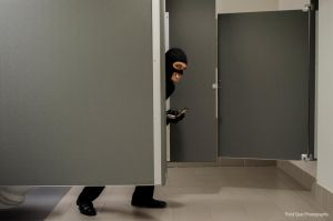 Team Fortress 2 Spy Sneaking Around The Stalls by ThirdGearPhotography