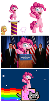 Pinkie Pie in: Fun with Photoshop. :B by BerryPAWNCH