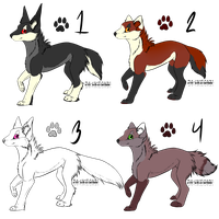 Canine Adopts - Points by UkeSasu