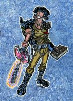 Ash Williams: Ghostbuster by twistedcortex