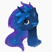 Princess Luna by Picklesquidly