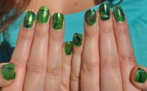 St. Patty's Day Nails! by lamaisol