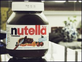 Happines Lies in a Nutella Pot by arabianpharoe