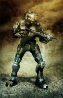 Master Chief by edde