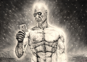 Dr Manhattan by redchaos187