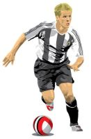 Vector Michael Owen by parka