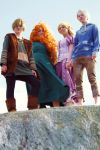 The Big Four- Hiccup, Merida, Rapunzel and Jack by twinfools