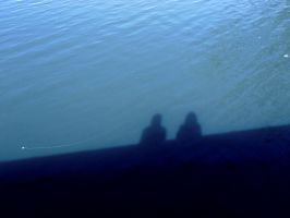 Our Shadows in the Water by BlueMoodRhythm