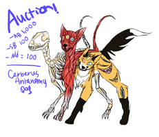 Antonomy Cerberus dog [ Auction! ] by CofoxtheGreat