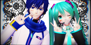 .:MMD:. Couple Picture by RockfanXYuki