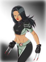 X-23 Again by Windriderx23 by Blindman-CB