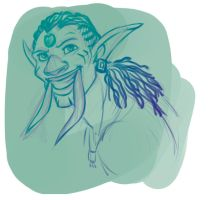 Troll concept art by MadAlleyCat