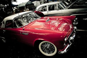 Wheels of Red Passion by Mitchography