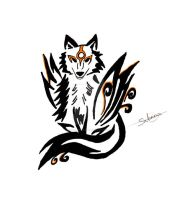 Okami tattoo 6 by Northwolf89
