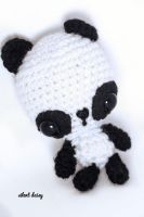 Panda Bear Amigurumi by tiny-moon