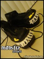 Monster Shoes 002 by zeldyn