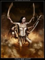 Kali - Destroyer of Illusions. by Dr-Benway