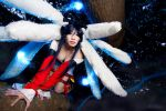 League of Legends Ahri by Kasume-chan