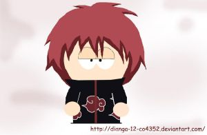 Sasori -South Park style- by Dianga-12-co4352