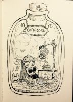 Capricorn in the jar by Pcat007