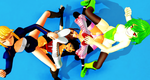 [MMD WRESTLING]Tag Pin by tousato