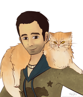 Omid and General Whiskers by Burnt-X3