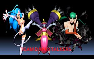 Team Darkstalkers by thereanimatedunknown