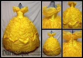 Belle's Ballgown by Durnesque