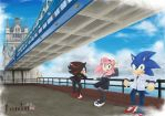 SonicxAmyxShadow in London by DreamingClover