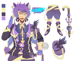 Adoptable 15 The Spoiled Cat [CLOSED] by MHWAdopt