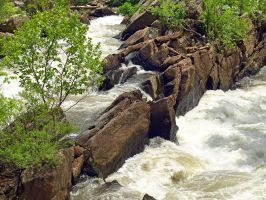 Great Falls of the Potomac 12 by Dracoart-Stock