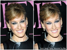 Retouch Sarah Jessica Parker by Giraffina