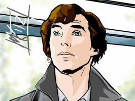 Animated Sherlock Frame w Colors by semie