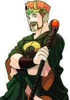 King Sheamus by GreenWild