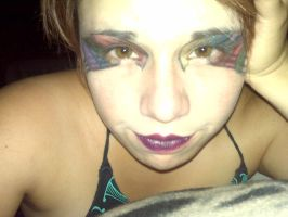 Eye multi-color wings and extreme cupid's bow by Lust-a-deadly-sin
