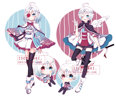 [OPEN] Assassin Twins Adoptable by Isemiyaki