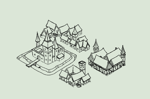 playing with isometric map for HAG by Danesippi