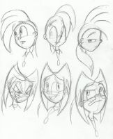 Expression Doodles by faster-by-choice