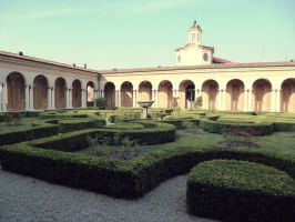 Mantua Ducal Palace 05 by Ninelyn