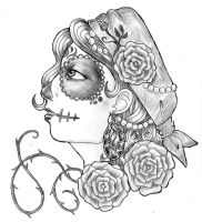 Sugarskull by Kaamosrutto