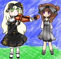 Contest Entry- AmeiHime and Marmaladecookie by Kittensrme