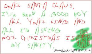 A Letter For Santa Claus by Enuma