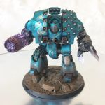 Alpha Legion Leviathan Dreadnought by ak1508