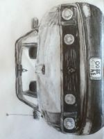 Sketch of a car by Ben3418