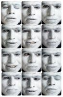THE WHITE SELF-PORTRAITS by thecarlosmal