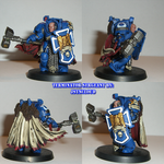 Space Marine Terminator Sgt. by jstncloud