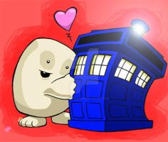 Doctor Who - Adipose by Sideways8Studios