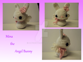 Mina the Angel Bunny by altearithe